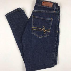 Levi's Denizen Skinny Stretch Ankle Denim Jeans